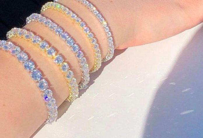 """Bracelet """"TENNIS CZ"""""""
