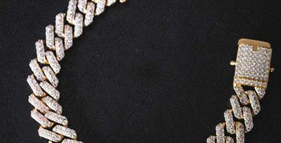 """Chaine """"14 MM DOUBLE CUBAN LINK GOLD"""""""