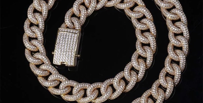 "Chaine ""15 MM CUBAN ULTRA LINK"""