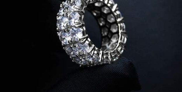 "Bague ""BEVERLY DIAMOND"""