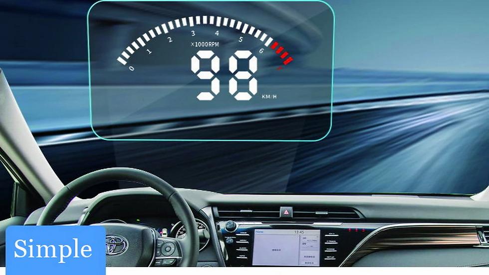 HUD Проектор скорости для автомобиляTOYOTAALPHARD