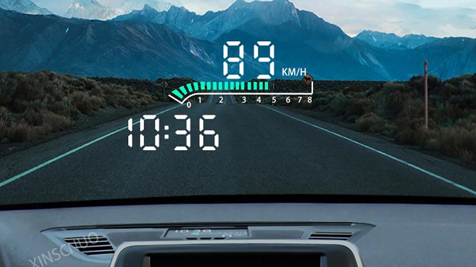 Автомобильный дисплей HUD для BMW X1/X2