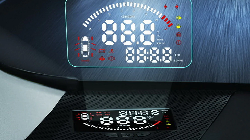 Проектор HUD для Lexus NX 2018 2019