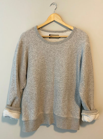 Vintage Grey Crewneck Sweater