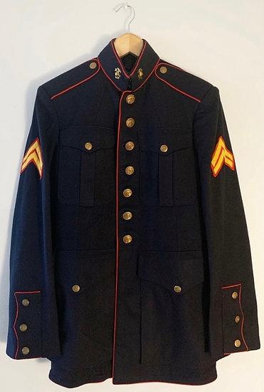 Vintage Navy Army Military Jacket