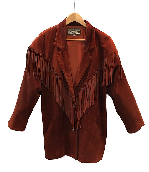 SuedeTassel Jacket