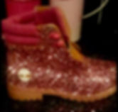Glitter DIY Arts and Crafts shoes boots