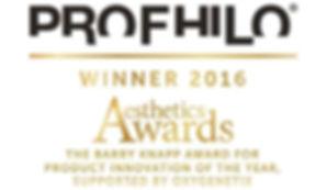 Profhilo award aesthetic award