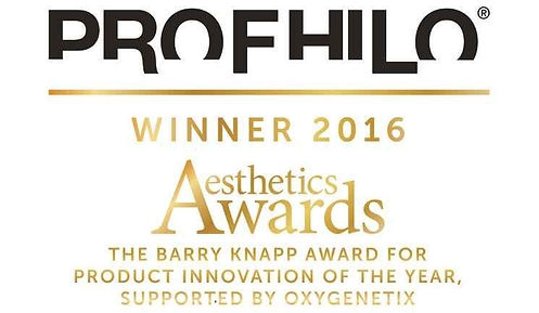 Profhilo award aesthetic award