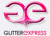 glitterexpress logo nail and body art glitter uk
