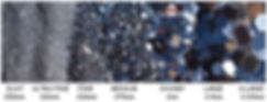 Glitter Size Chart Conversion glitterexpress