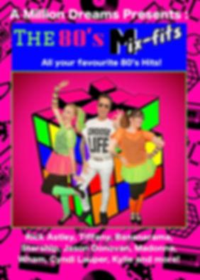 A Million Dreams 80's Mix-Fits Show