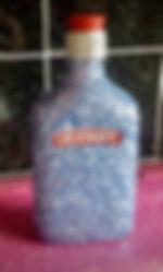 Glitter DIY Arts and Crafts vodka bottle sparkle