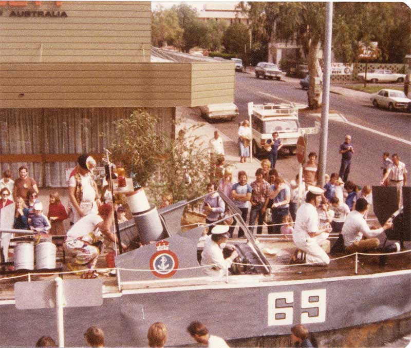 Todd St Parade 1977