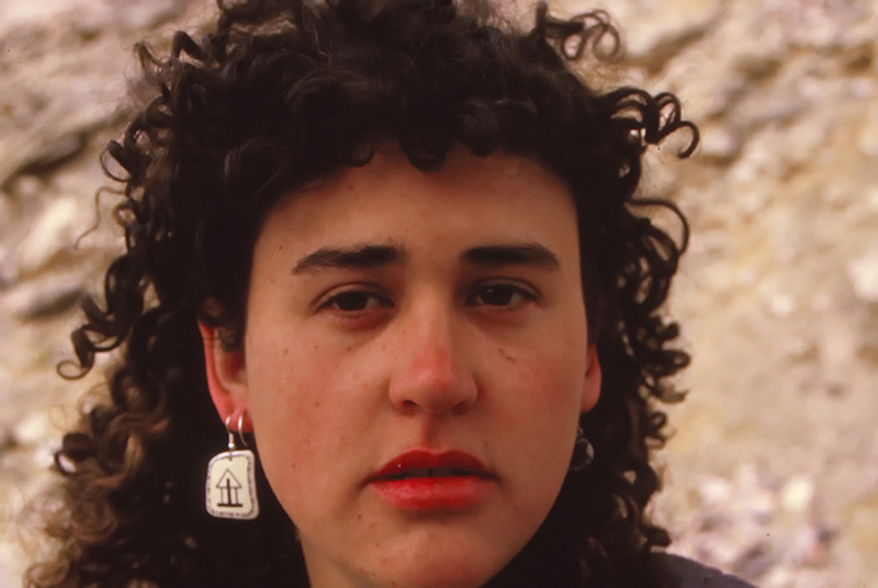 Saren Dobkins, Taba Beach, 1989