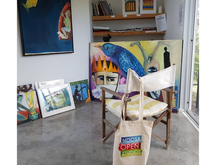 The Art Trail which led to my studio