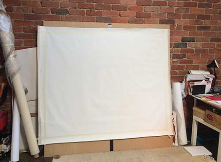 It all starts with a blank canvas