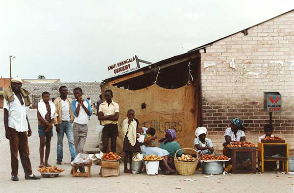 Market vendors, Ndola, Zambia Saren Dobkins