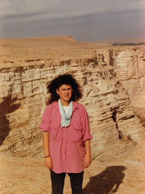 Saren in the Negev desert