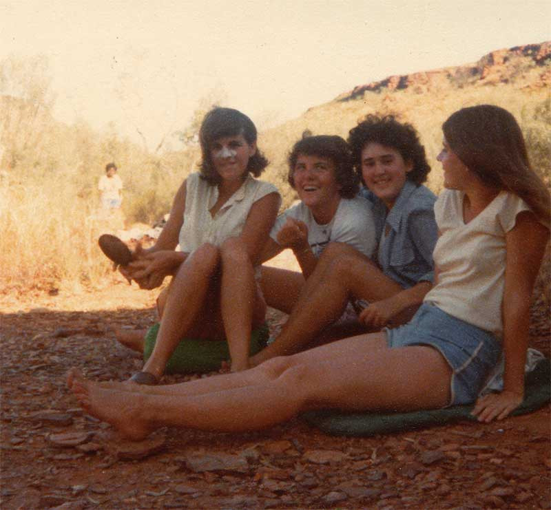 Girls in the Red Centre