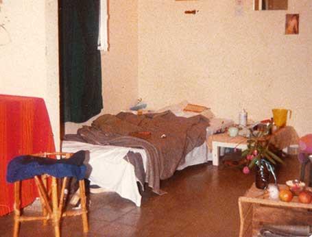 Bedroom, Kibbutz HaSolelim, 1979