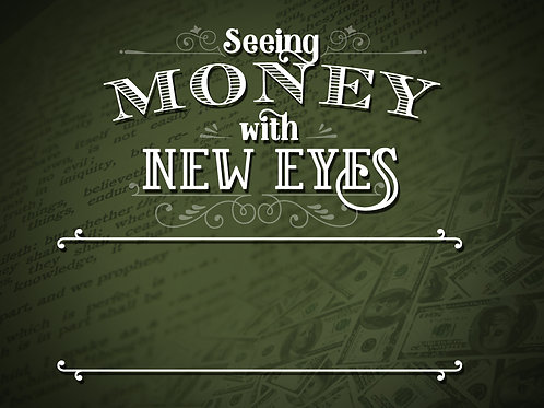 Seeing Money with New Eyes