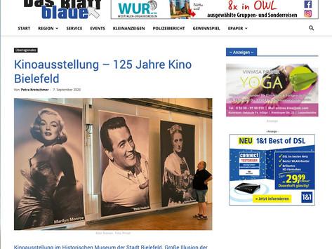 Kinoausstellung - 125 Jahre Kino Bielefeld | Das Blaue Blatt