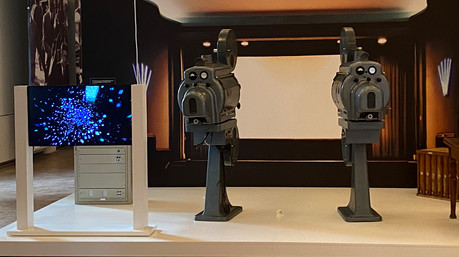 Projektorn im Kino