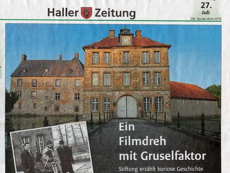 WB - Haller Zeitung - Ein Filmdreh mit Gruselfaktor