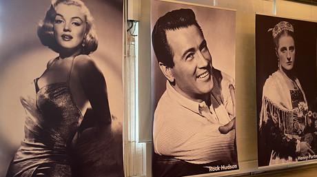 Marilyn Monroe, Rock Hudson & Henny Porten