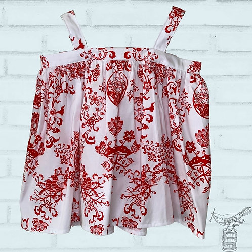 Layla Baby Doll Top - Size 6