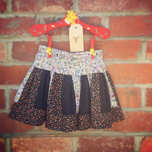 Sew Sustainable Scrappy Skirt