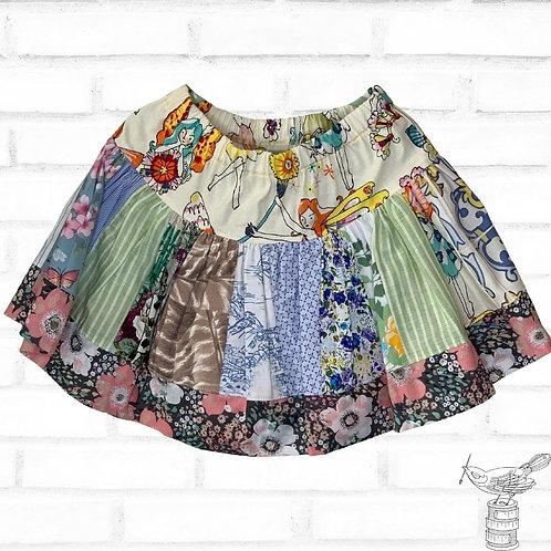 Scrappy Twirly Skirt - Size 6