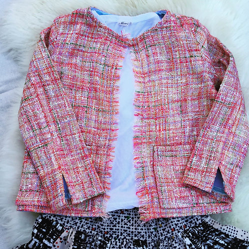 Coco Jacket  Silk and Cashmere