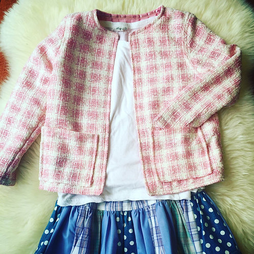 Pink Tweed CoCo Jacket