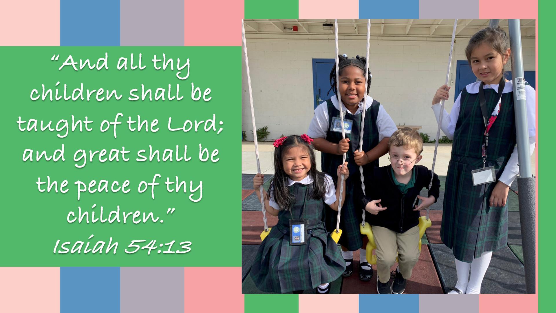 Pre School Students