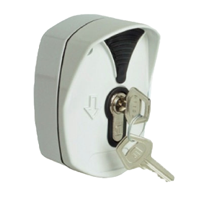 Boite à clés pour rideaux métalliques et portes de garages