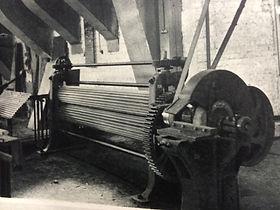 Ancienne fabrication de rideaux douville