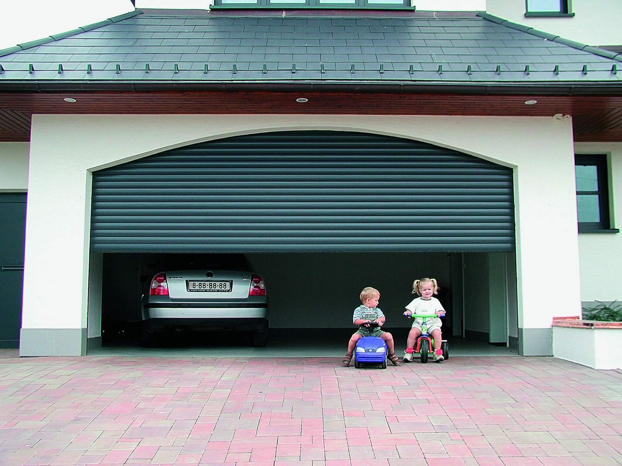 Rideau de garage automatique