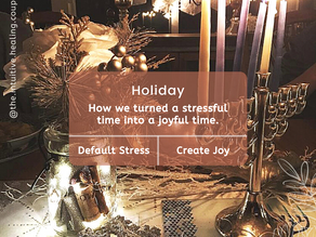 How we turned holiday stress into the holiday joy!