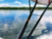 fly floats, blue river aviation, flight school, fly around alaska