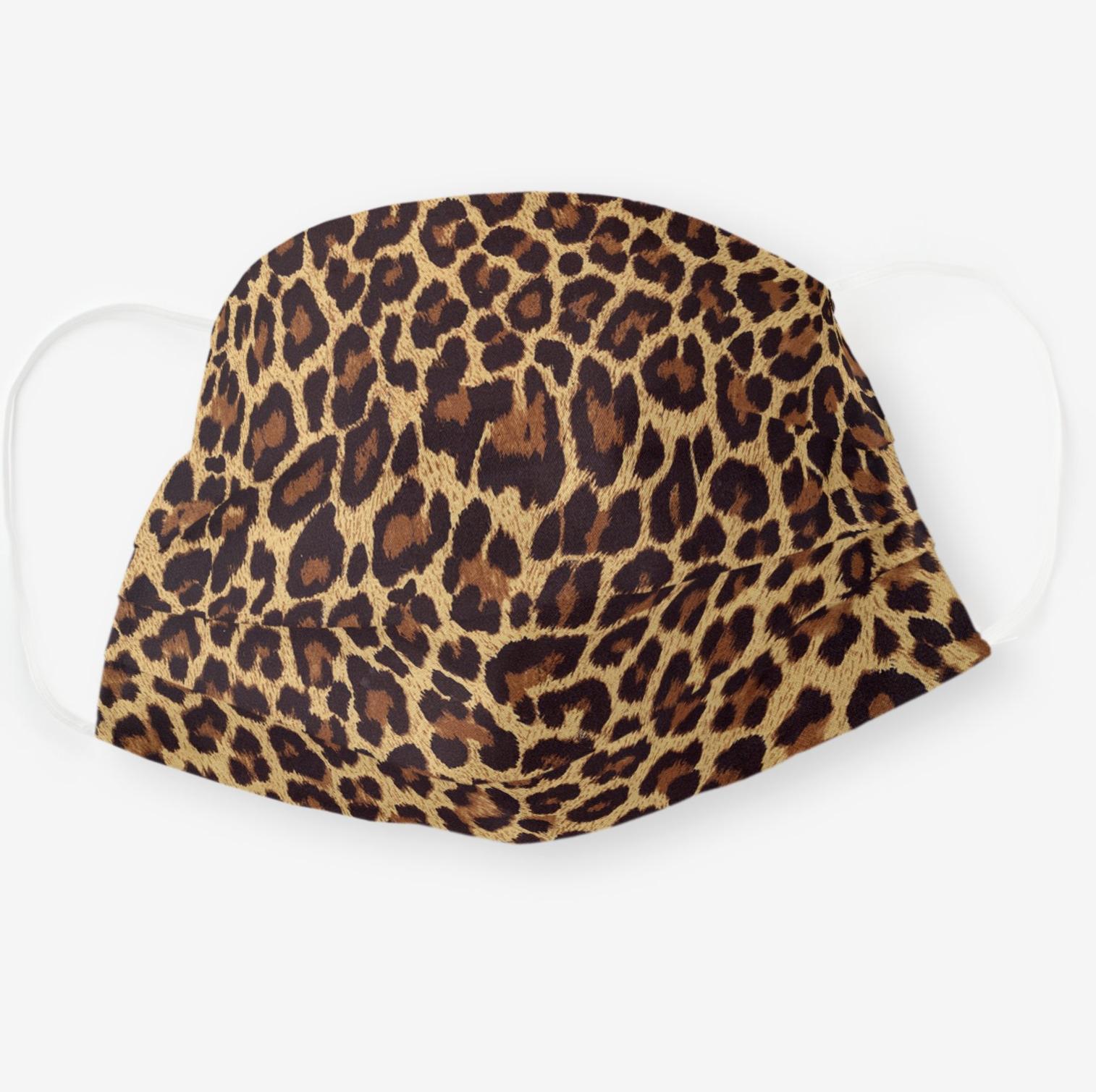 Exotic Faux Leopard Print