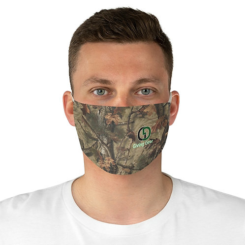 """Giving Gear"" Camouflage Fabric Face Mask"