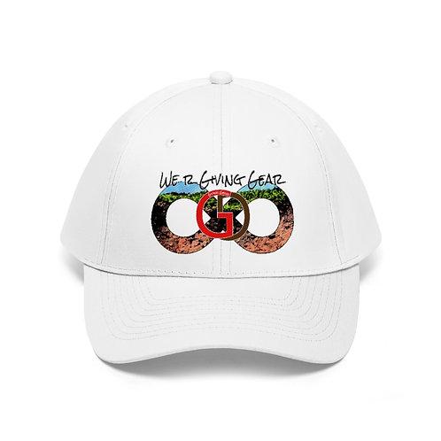 "Unisex Giving Gear ""We R Giving Gear"" Twill Hat"