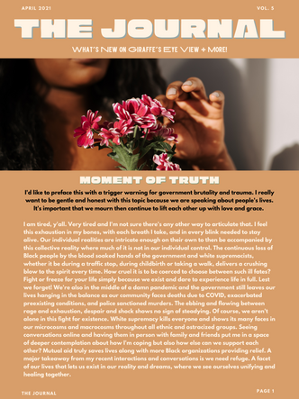 Spring Forward into Healing - April Newsletter
