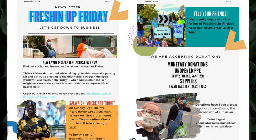 Freshin Up Fridays Bi-Weekly Newsletter
