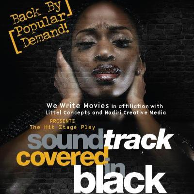 Official Flyer for Soundtrack Covered in Black (2015)
