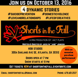 Official Flyer for Shorts in the Fall (2016)