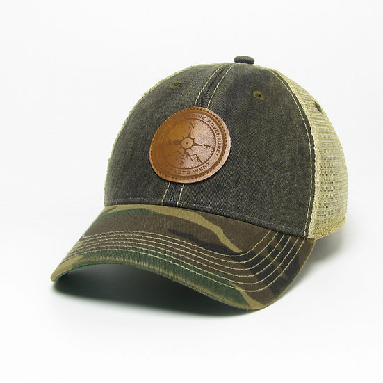 APPALACHIA PATCH HAT - BLACK/CAMO