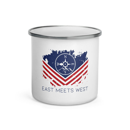 PATRIOT ENAMEL MUG